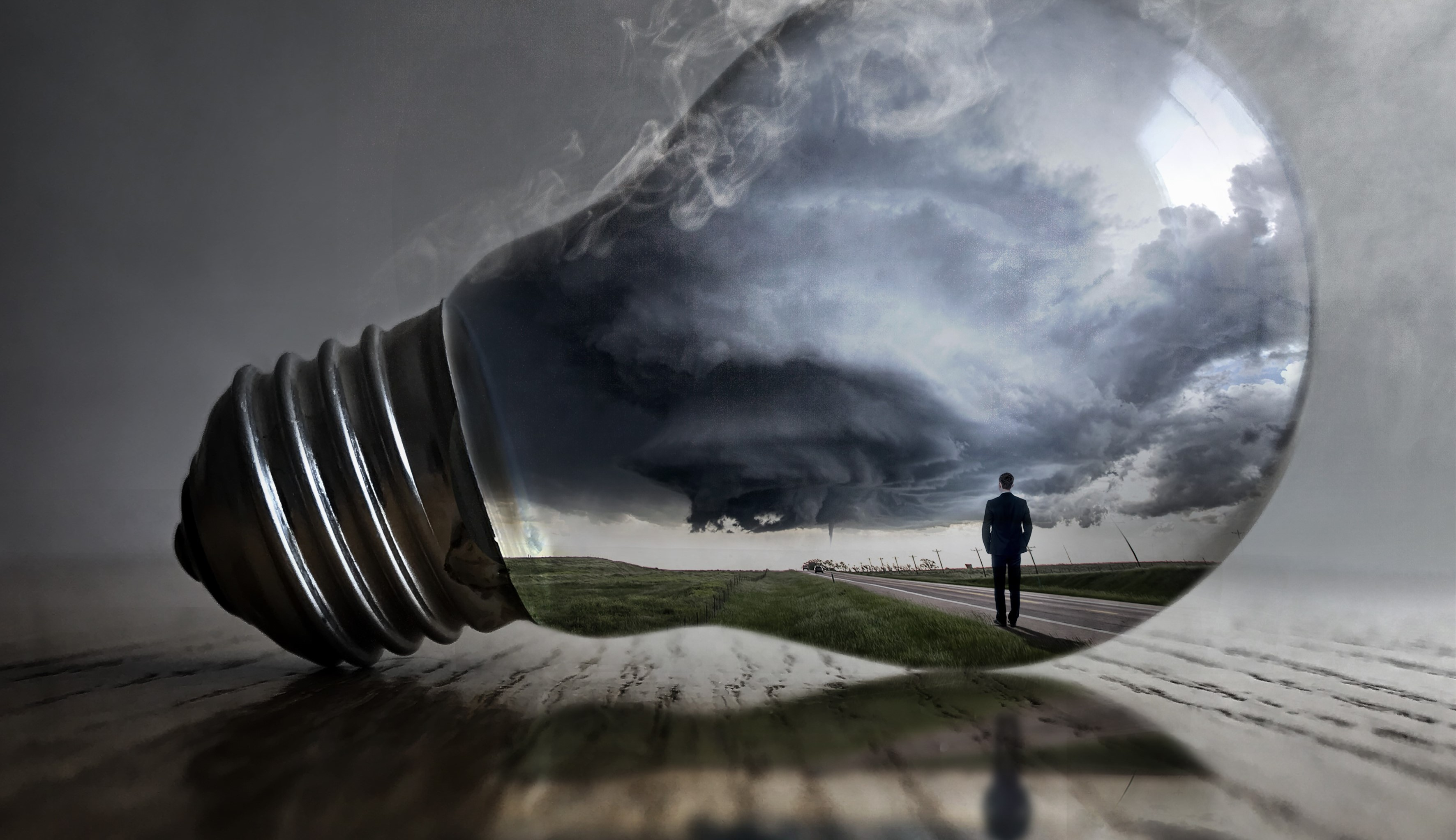tornado, light bulb, digital week