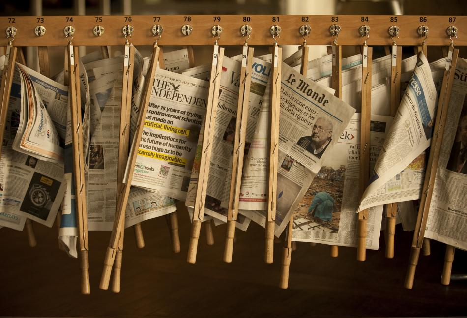 Newspapers at the University of St.Gallen
